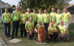 l'équipe de v.r.p (vélo route plaisir)